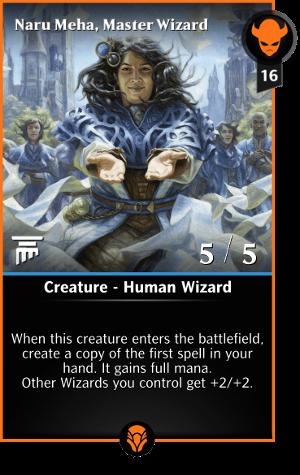 Naru Meha Master Wizard
