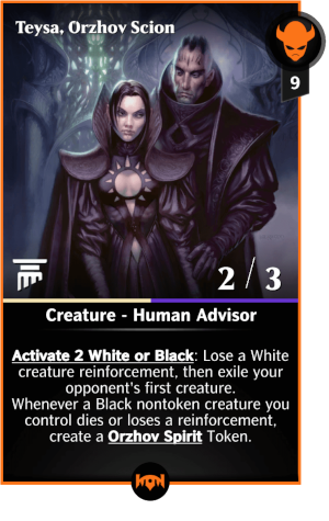 Teysa Orzhov Scion Mtgpq Info When orzhov euthanist enters the battlefield or the creature it haunts dies, destroy target creature that was dealt damage this turn. teysa orzhov scion mtgpq info